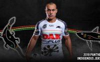 camiseta rugby Penrith Panthers Indigena 2019