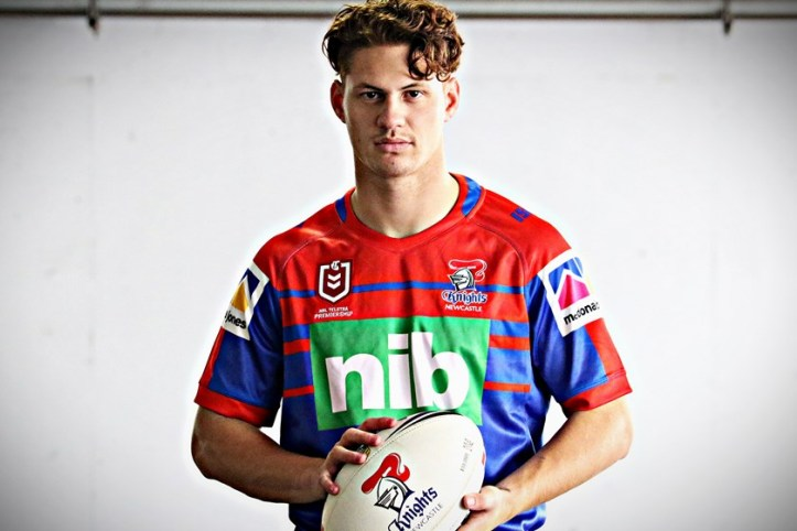Camiseta rugby Newcastle Knights local