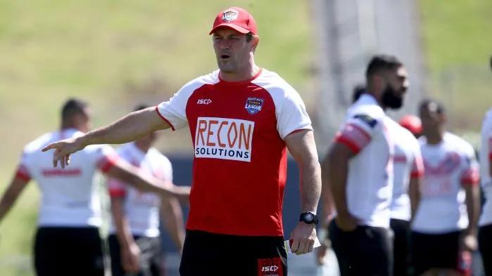 Kristian Woolf Tonga Rugby 2019