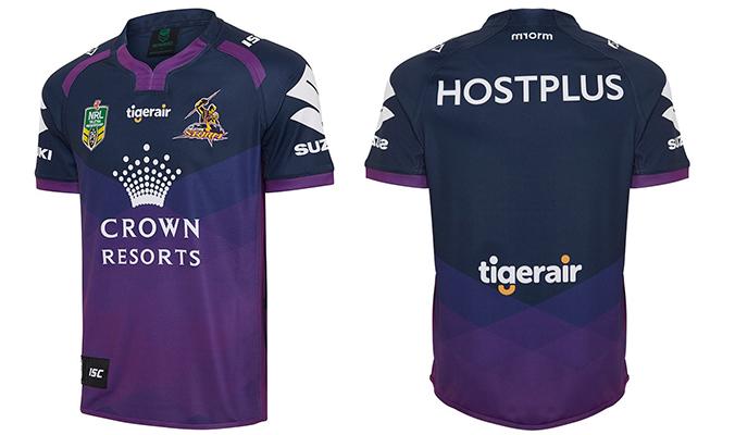 Camiseta Melbourne Storm 2016 Local