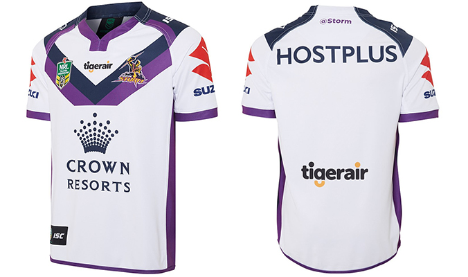 Camiseta Melbourne Storm 2016 Segunda