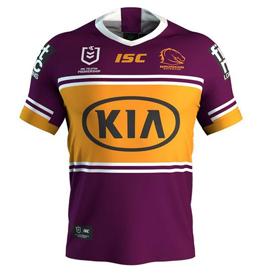 Camiseta Brisbane Broncos Rugby 2020