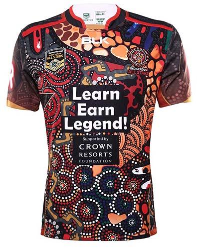 Camiseta-NRL-Indigenous-All-Stars-2016