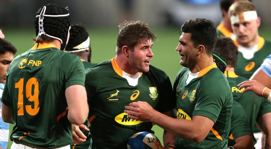 camisetas rugby Sudafrica